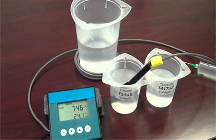 氯离子电极校准步骤