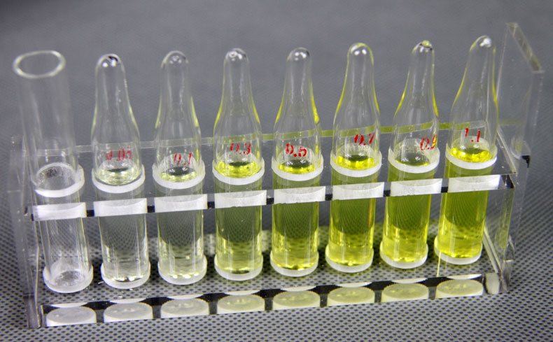 余氯比色管和对照标准品