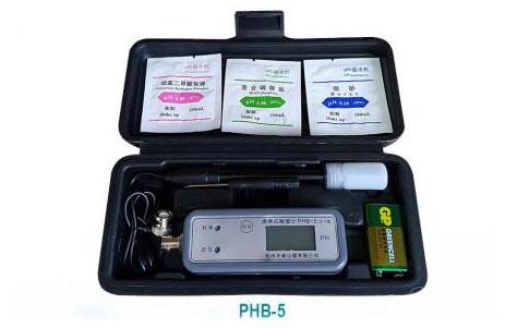 便携式pH计PHB-5