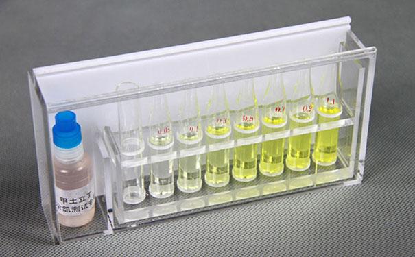 低量程(0.05-1.1mg/l)实用新型余氯比色计